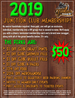Junction Club Memberships